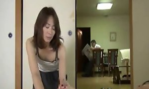 Japanese mother subjected to careful nursing