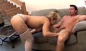 Horny mature fucks hard and squirt