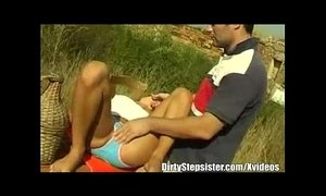 Outdoor Stepsiblings Sex After A Bike Ride